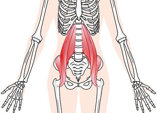 すべての患者さんに、「体幹の異常」という共通点があります
