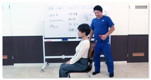 光田先生は、セルフケアの指導にとても力を入れています