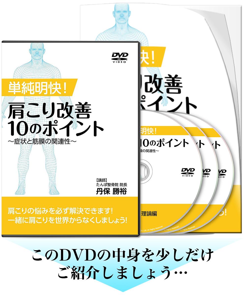 単純明快!肩こり改善10のポイント~症状と筋膜の関連性~