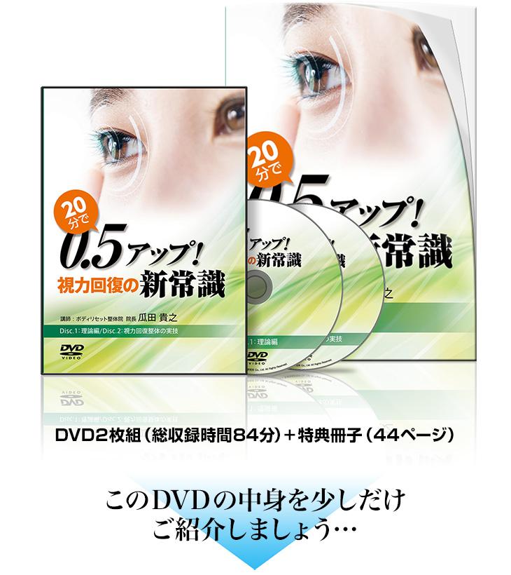 20分で0.5アップ!視力回復の新常識DVD